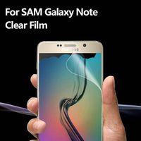 Easy Stall HD Crystal screen protector film Front & Back for Samsung Galaxy Note5