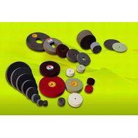 Non-woven Wheels, nonwoven unitized wheels, unitised wheels, Grinding Wheels, metal finishing wheels thumbnail image