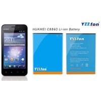 YEEFON Brand Battery For HUAWEI C8860 Cell Phone High Quality Long Standby time Li-ion Battery Model