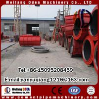 Brand new roller Suspension Concrete Pipe casting pipe making machine