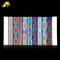Rainbow magic color Reflective Heat Transfer Vinyl film for engraving machine laser machine into cus thumbnail image