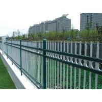 Secure hot dipped galvanized galvanized steel fence