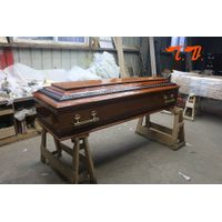TD-E01European style cheap price chinese coffin for sale thumbnail image