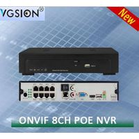 8 CHANNEL1080P POE Network Video Recorder