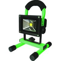 COB 10W IP65 outdoor rechargeable LED led flood light