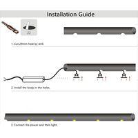 Exterior1W LED Handrail Stair Railing Lights IP67 Waterproof Interior LED Spot Light thumbnail image