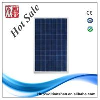 A grade 95w solar panel of sunpower solar product used for solar pv system