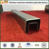 Google stainless steel slotted tube 316 square pipe stainless steel