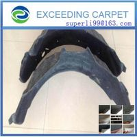 needlepunch nonwoven fabric for wheel arch liner
