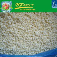 frozen IQF diced garlic
