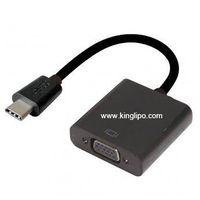 USB3.1/M TO VGA/F Cable 22CM