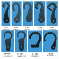 High quality of plastic tackle hooks TH001-TH009 produced by our own