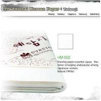 Traditional Korean Paper
