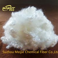 15D64mm 100%Hollow conjugated siliconized polyester staple fiber thumbnail image