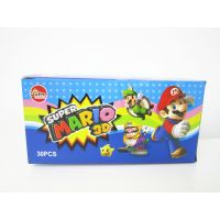 Super Mario CC stick candy with lovely 3D Super Mario pictures toy