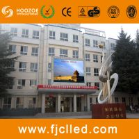 p8 full color outdoor led display board