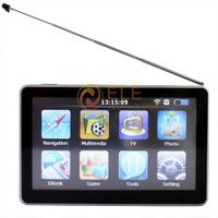 5 inch GPS Navigation with Analog TV Bluetooh+Av-In+FM Transmitter + 4GB momory with map
