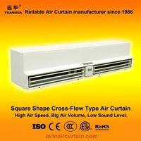 Square cross-flow type air curtain (air door) FM-1.5-12 plus