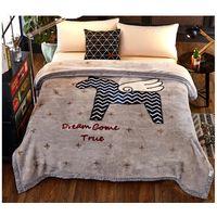 Fleece Blanket King Size Raschel Blanket thumbnail image