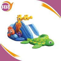 commercial summer mini inflatable water slide