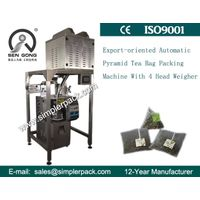 Nylon Rose Tea Bag Packing Machine with Thread and Tag