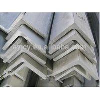 Angle iron size SS400/A36/Q235B/S235(JR,JO,J2,J2G3,J2G4)