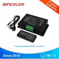 BC-380-8A Best selling led controller, brightness and speed pragrammable DIY RGB controller