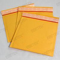 Yellow Kraft padded bubble envelopes
