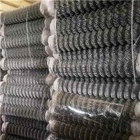 Hot Dipped Galvanized Chain Link Fence    chain mesh fencing     Electro Galvanized Chain Link Fence
