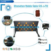 vehicle mountedsolar led traffic arrow board trailer