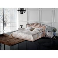soft leather bed Y8803#