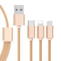 3 in1 USB Cable Multi 1.2M USB Charging Cable