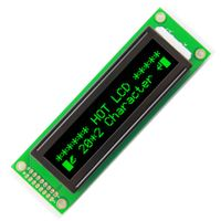 202Dots Graphic LCD Module (HTM2002A) Outline dimensions: 67.34mm