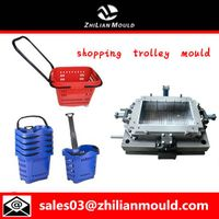Plastic Injection Shopping Trolley Mould