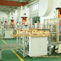 Aluminium foil dishes machinery box making machine