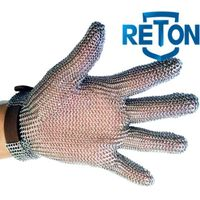 oyster chain mail stainless steel mesh glove thumbnail image