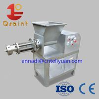 Meat bone separator / deboning separator machine
