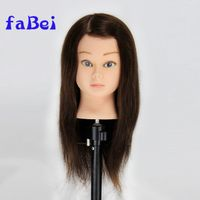 Realistic women mannequin with human hair thumbnail image