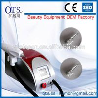 colorful portable Nd Yag tattoo removal machines with good effect useful in the home salon or clinic