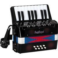 Junior children's 17 key 8 bass musical accordion for sale