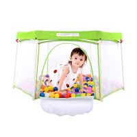 Baby playpen manufacture eco friendly folding safety travel baby playpen thumbnail image