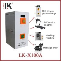 LK-X100A Factory price coin operated time box