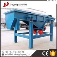 vibrating sieve for plastic granulation