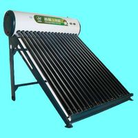 high-performance compact unpressurized  solar water heater