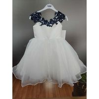 lace flower girl dress thumbnail image