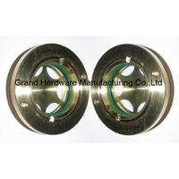 Circular Brass oil sight glass thumbnail image