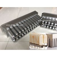Rigid ice cream mold stainless steel 304 316 material food grade ataforma type including extractor thumbnail image