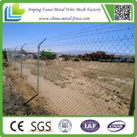 Wholesale chain link fence / chain wire fencing