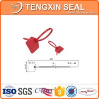 factory price bank bag logistic bags security plastic seal lock