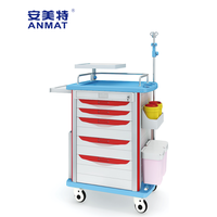 JH-ET750-01HOT SALE hospital medical equipment emergency trolley